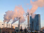 Air pollution — Stock fotografie