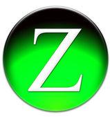 Letter Z icon — Stock Photo