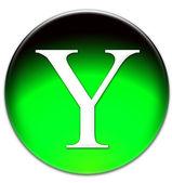 Letter Y icon — Foto de Stock