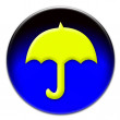 Umbrella icon - Stock Photo