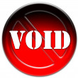 Void icon - Stock Photo