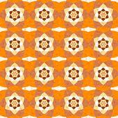 Arrière-plan transparent fractal vintage abstrait — Vecteur