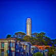 Stock Photo: Coit Tower, SFrancisco