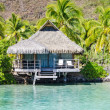 Stock Photo: Overwater Bungalows