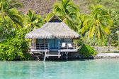 Overwater Bungalows — Stock Photo