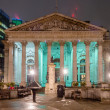 Stock Photo: Royal Exchange Building, London, UK