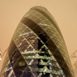 Stock Photo: Gherkin Building, London, UK