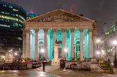 The Royal Exchange Building, London, UK — Stock Photo