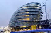 London City Hall at Dusk — Stock Photo