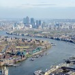Panoramic View of London — Stock Photo