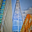 Shard London Bridge, Modern Skyscraper in the London Skyline — Stock Photo