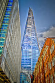 Shard London Bridge, Modern Skyscraper in the London Skyline — Stock Photo