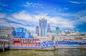 London City Skyline — Stock Photo