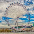 Stock Photo: London Eye Panoramic Wheel