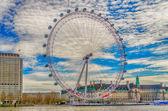 ロンドンの目のパノラマ ホイール — ストック写真