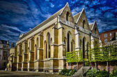 Temple Church, London, UK — Stock fotografie
