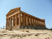 The Temple of Concordia, Agrigento, Italy — Stok fotoğraf