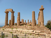 Temple of Juno Lacinia, Agrigento, Italy — Stock Photo