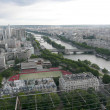 Stok fotoğraf: Panoramic View of Paris from Tour Eiffel, France