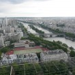 Photo: Panoramic View of Paris from Tour Eiffel, France
