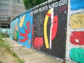 Berlin Wall Remains at Potzdamer Platz, Germany — Stock Photo