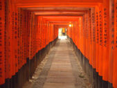 Fushimi-Inari Temple, Kyoto, Japan — Stock Photo