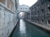 View over the Bridge of Sighs, Venice, Italy — Stock Photo