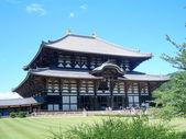 Todai-ji Buddhist Temple, Nara, Japan — Stock Photo