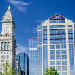 Stock Photo: Custom House Tower, Boston