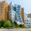 Stock Photo: Iconic Postmodern Architecture of MIT StratCenter, Cambridge,