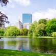 Boston Public Garden — Stock Photo