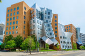 Iconic Postmodern Architecture of MIT Strata Center, Cambridge, — Stock Photo