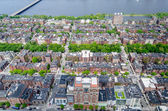 Aerial View of the Beacon Hill District, Boston, USA — Stock Photo