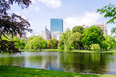 Boston Public Garden — Stock Photo