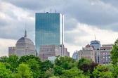 Horizonte de boston — Foto de Stock
