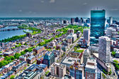 Aerial View of Central Boston, USA — Stock Photo