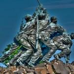 Marine Corps War Memorial (Iwo Jima Memorial) — Stock Photo