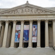 Stock Photo: National Archives in Washington DC
