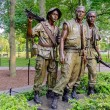 Stock Photo: Vietnam Veterans Memorial Statue, Washington DC