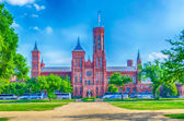 Smithsonian Castle, Washington DC — Stock Photo