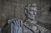 Lincoln anıtı, washington dc — Stok fotoğraf