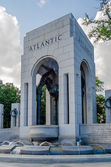 World War II Memorial in Washington DC — Stock Photo