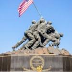Marine Corps War Memorial (Iwo Jima Memorial) — Stock Photo #28202145