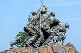 Marine Corps War Memorial (Iwo Jima Memorial) — Foto de Stock
