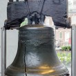 Liberty Bell in Philadelphia, Pennsylvania — Stock Photo