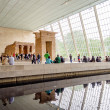 Temple of Dendur, Metropolitan Museum of Art, New York — Stock Photo