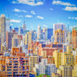 New York City, Aerial View of the Upper East Side — Stock Photo