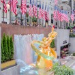 Stock Photo: Golden Prometheus Statue at Rockefeller Center in New York