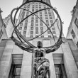 Atlas Statue in the Rockefeller Center — Stock Photo