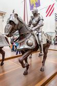 中世纪的盔甲μεσαιωνική πανοπλία — 图库照片